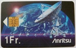 SWITZERLAND - Chip - Anritsu - Telecom '95 - Geneva - 1Fr - Used