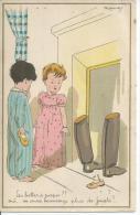 1501/4 - LES BOTTES A PAPA ?.! OUI... ON AURA BEAUCOUP PLUS DE JOUETS !...  ( Déssin: G. LAUVE  ? ) - Autres Illustrateurs