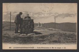 DF / 31 HAUTE-GARONNE / SAINT-AVENTIN / LUCHON-SUPERBAGNÈRE / TABLE D'ORIENTATION ET MER DE NUAGES / ANIMÉE / 1929 - Autres Communes