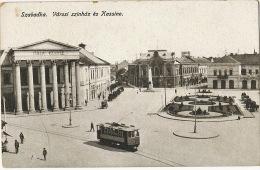 Szabadka Varosi Szinhaz Es Kassino Tramway Tram Edit Lipsitz - Serbie