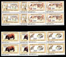 Senegal 0722/25** X4 - Parc National Casamance MNH - Sénégal (1960-...)