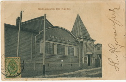 Kuopio Raittiusseuran Talo  P. Used 1912 Russian Stamp To Cienfuegos Cuba - Finlande
