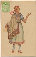 Costume Vidzeme Livonie 1926 Latvju VI Visparejie Dziesmu Un Muzikas Svetki - Lettonie