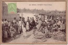 SENEGAL - RUFISQUE - 595 - VILLAGE DE BARGNY - Collection Générale Fortier - Avant 1904 - Senegal