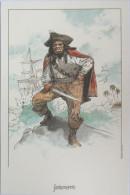 Hermann - Pirate - Ex Libris Non Numéroté Et Non Signé - Ex-libris