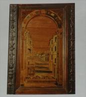SIENA - Monte Oliveto Maggiore - Coro intarsiato - Particolare (Fra Giovanni da Verona)