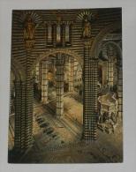 SIENA - Cattedrale sec. XIII - Pavimento e Pulpito vista dal Transetto