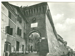 IESI, PORTA GARIBALDI, VIA N. SAURO, B/N VIAGGIATA 1964, TIMBRO POSTE MESS.TERNI-ORTE-ANCONA- T3, - Italia