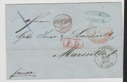 Rl174/ St. Petersburg Nach Frankreich 1867 - 1857-1916 Imperium