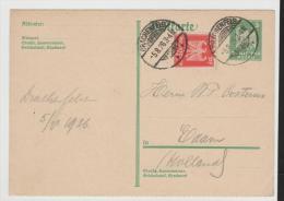 WGA350/ GA P 65 II, Mit Zusatzmarke, Portogerecht Nach Holland - Briefe U. Dokumente