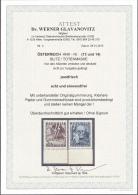 ÖSTERREICH AU*STRIA 1946 ANK Nr. (13 UND 14) BLITZ / TOTENMASKE MNH / ** / POSTFRISCH EINWANDFREI - 1945-60 Ungebraucht