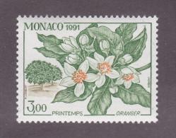 TIMBRE MONACO N°1790 NEUF * TRACE CHARNIERE 1991 - Monaco