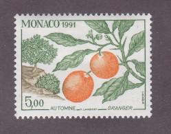 TIMBRE MONACO N°1792 NEUF * TRACE CHARNIERE 1991 - Monaco