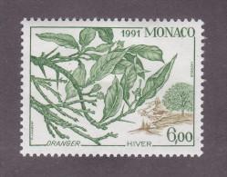 TIMBRE MONACO N°1793 NEUF * TRACE CHARNIERE 1991 - Monaco