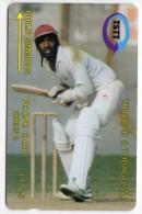 TRINIDAD & TOBAGO CARAIBES MV Cards T&T-6E Philip Simmons 15$ CN 6CTTE BASEBALL - Trinité & Tobago