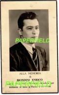 Pieux souvenir Enrico BIONDINI - MODENA 1925- HORNU 1948 - Accident de charbonnages