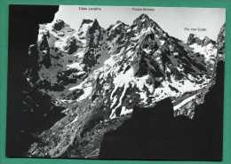 20 Massif Du Cinto Capu Larghia, Capu Rosso, Punta Minuta, Pic Von Cube Vu De La Route - Zonder Classificatie