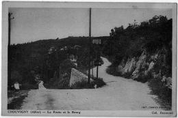 Chouvigny Allier Route Et Bourg 1920 ETAT SUPERBE - Altri Comuni