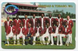 TRINIDAD & TOBAGO CARAIBES MV Cards T&T-8C Cable & Wireless 15$ CN 8CTTC - Trinité & Tobago