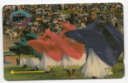 TRINIDAD & TOBAGO CARAIBES MV Cards T&T-9A Carifesta  30$ CN 9CTTA - Trinité & Tobago
