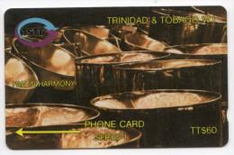 TRINIDAD & TOBAGO CARAIBES MV Cards T&T-12D Pan In Harmony  60$ CN 12CTTD - Trinité & Tobago