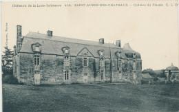Saint Aubin Des Chateaux (loire Atl) Château Du Plessis - France