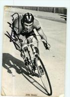 Julien STEVENS, Autographe Manuscrit, Dédicace. 2 Scans. Solo - Cycling