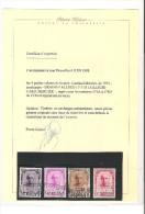 374A/374D ** Cardinal Mercier surcharge Braine-L'ALLEUD