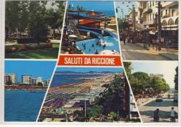 RICCIONE - Riviera Adriatica,   Nice Stamp - Rimini