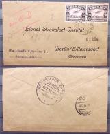 R-Brief Mit R-Stempel Ecuador NAGUCHI 12.10.1931 Nach Lionel Strongfort Institut Berlin-Wilmersdorf - Ecuador