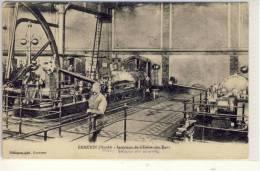 EMMERIN  Nord / LILLE  Intérieur De L'Usine Des Eaux, FM, Feld-Poststation Der Armee, 1915 - Lille