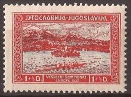 1932  243-48 SPORT RUDERN  JUGOSLAVIJA  JUGOSLAVIA JUGOSLAWIEN BLED SLOVENIJA  EUROPA RUDERN  NEVER HINGED - 1931-1941 Royaume De Yougoslavie