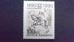 Deutschland BRD 1445 **/mnh, Der Kleine Postreiter (Detail); Stich Von Albrecht Dürer (1471-1528), Maler Und Grafiker - [7] République Fédérale