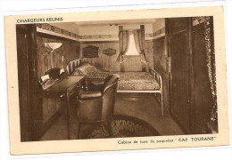 § RARE § Paquebot CAP TOURANE Cabine De Luxe - Paquebots