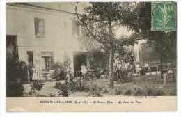 CPA 95 BOISSY L'AILLERIE L'OISEAU BLEU UN COIN DU PARC VOYAGEE - Boissy-l'Aillerie