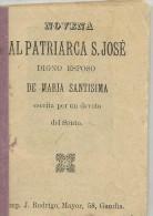 FP01 - NOVENA AL PATRIARCA SAN JOSE DIGNO ESPOSO DE MARIA SANTISIMA  NOVENA AL PATRIARCA SAN JOSE DIGNO ESPOSO DE MARIA - Religion & Occult Sciences