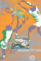HANDBALL, Western Germany, 1972, Special Postmark !! - Handball