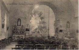 80 GRIVESNES   Le Choeur De L'Eglise - France