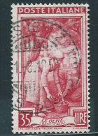 Italia 1950 Usato - Italia Al Lavoro £ 35 - 6. 1946-.. Repubblica