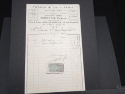 FRANCE - Document Fiscal - Détaillons Collection - A étudier - Lot 3912