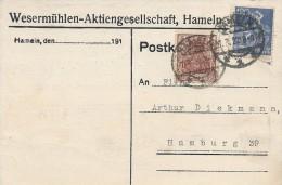 Postkarte   Used 1922.   S-1927 - Germany