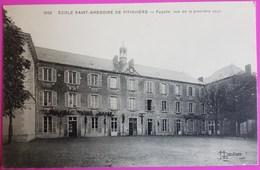 Cpa Ecole Saint Gregoire De Pithiviers Façade Vue De La Première Cour Carte Postale 45 Loiret Vierge - Pithiviers