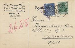 Postkarte   Used 1922.   S-1928 - Germany