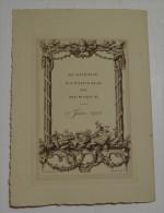Académie Nationale De Musique Le 1 Er Juin 1912, Format Fermé 15x21 - Programs