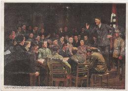 HITLER - H.O. Hoyer - Oberstdorf Am Anfang War Das Wort (Réunion Clandestine Du Parti) (75771) - Guerra 1939-45