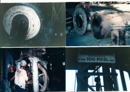 8 Photo´s:  Java : PG (Pabrik Gula  - Suikerfabriek) Semboro En Anderen, Stork Hengelo. Fijenoord Rotterdam, Lotus-Rolls - Plaatsen