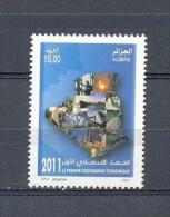 ALGERIA * SERIE 1v 2011 * ECONOMIC RECENSEMENT * SHIP * ECONOMY * INDUSTRY * MNH - Algerije (1962-...)