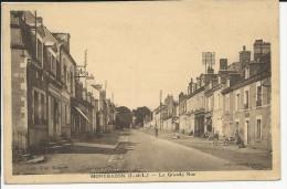 Carte Postale : Montbazon : La Grande Rue - Montbazon