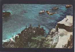 Clavadista En La Quebrada, Acapulco,  Mexico, Posted With Stamps, N18. - Mexico
