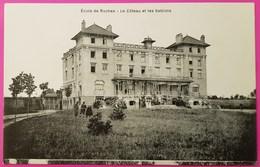 Cpa Ecole Des Roches Le Coteau Et Les Sablons Carte Postale 27 Eure Verneuil Sur Avre Vierge - Verneuil-sur-Avre